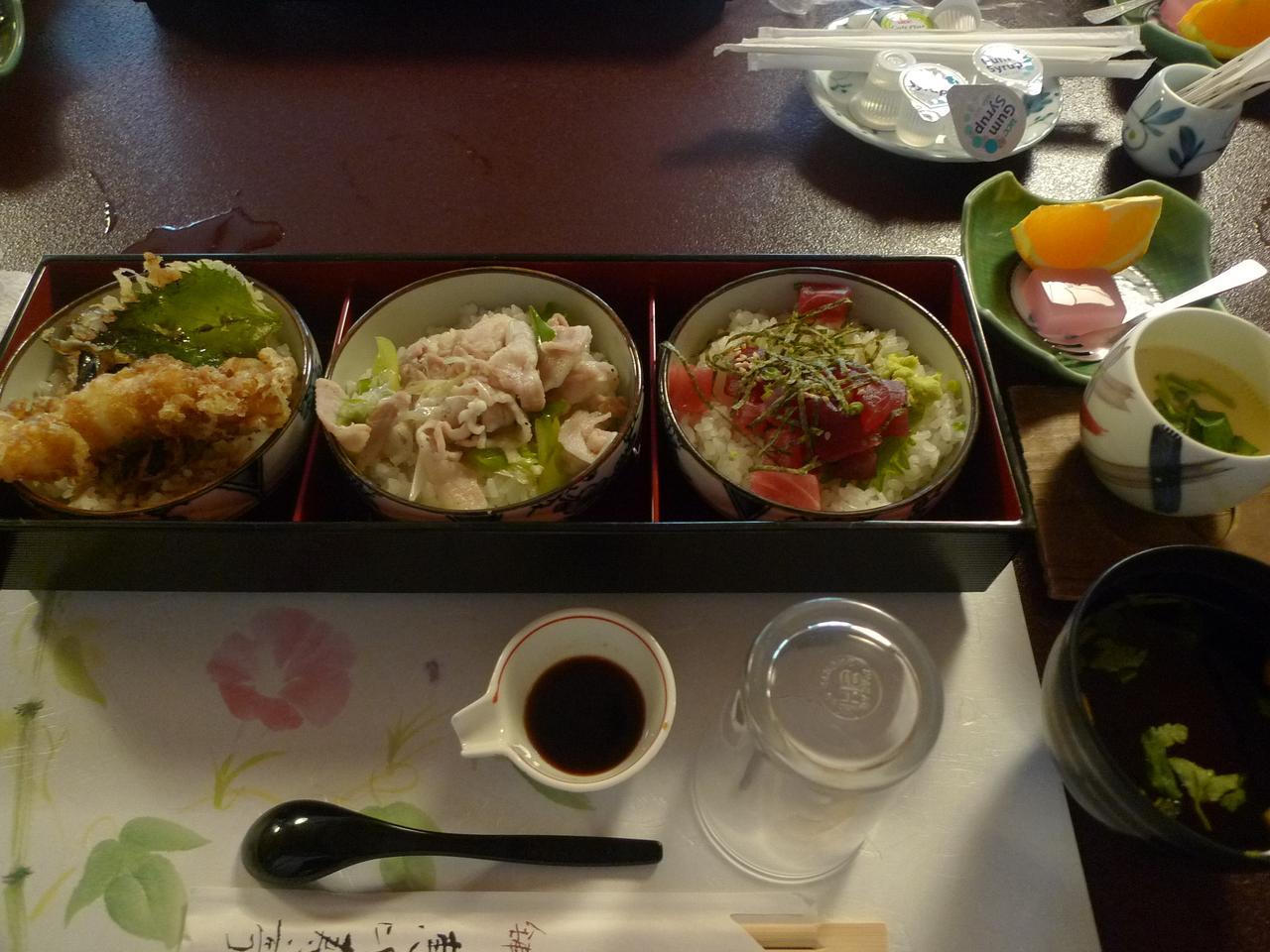 画像: 小丼ぶり三種「恵比寿三色飯」