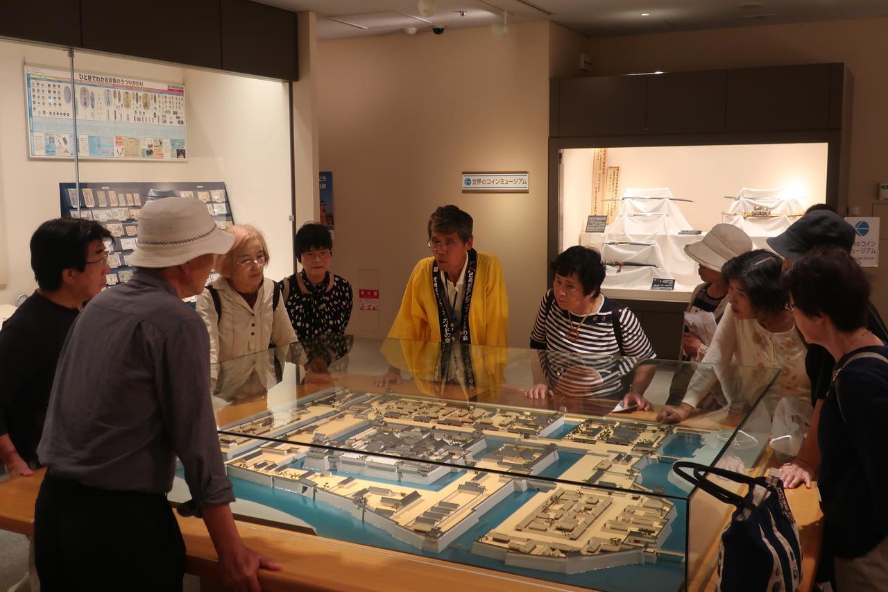画像: この後行く尼崎城の予習