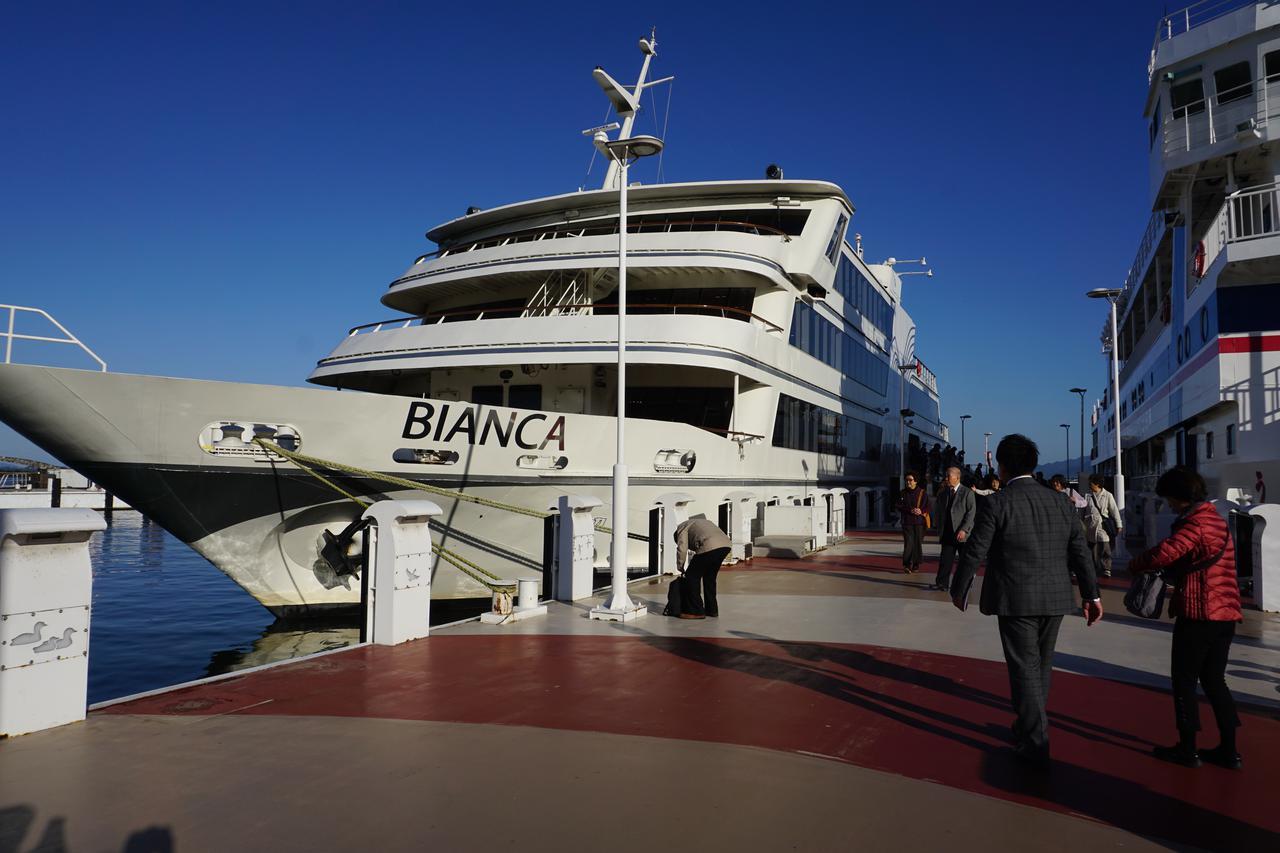 画像: 大型客船「ビアンカ」