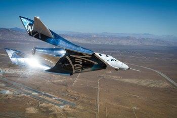 画像: 5月1日のテスト飛行風景