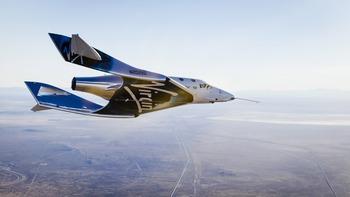 画像1: スペースシップ2 グライダー飛行テスト成功