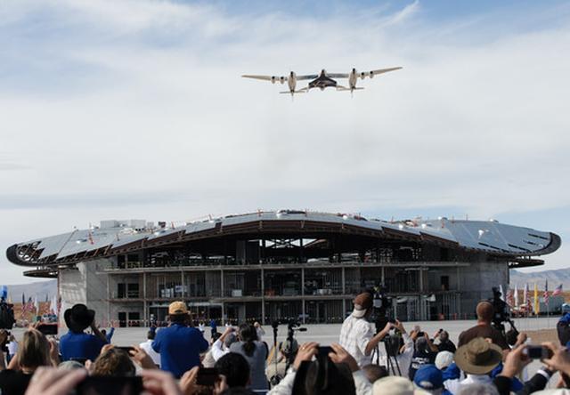 画像: 建設中のヴァージン専用ターミナルビル。来年初頭には完成予定。
