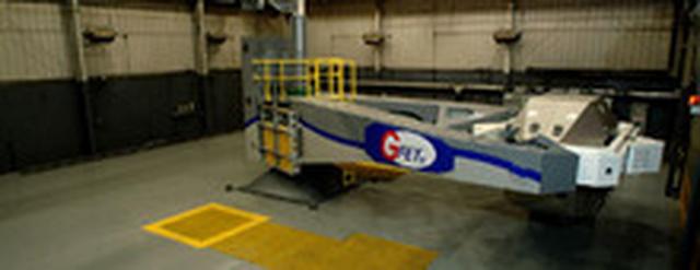 画像: NASTAR CENTERの遠心分離機写真