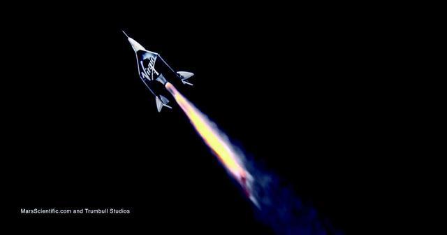 画像3: 2月22日 初の乗客あり宇宙テストフライト成功
