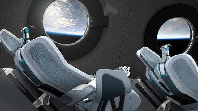 画像2: 宇宙船 乗客用キャビンのデザインが初公開