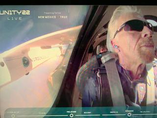 (速報)7月11日リチャードブランソン卿 宇宙フライト成功