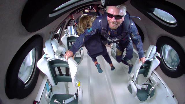 画像: リチャードブランソン卿 遂に宇宙に行く www.youtube.com