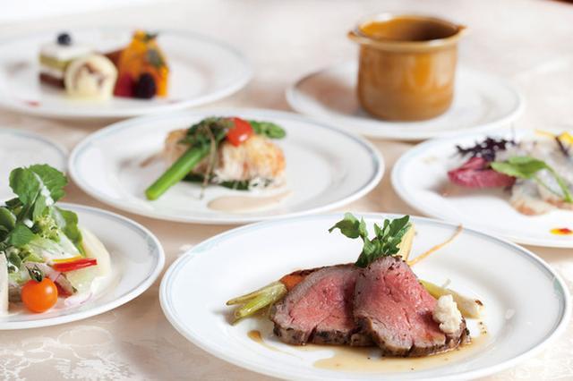画像: フレンチフルコースのご夕食 イメージ