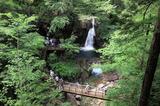 画像: 夕森公園の「竜神の滝」のダイナミックな眺め