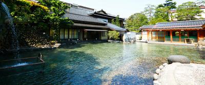 画像: 日本一の広さを誇る庭園大露天風呂 龍宮の湯・(イメージ)
