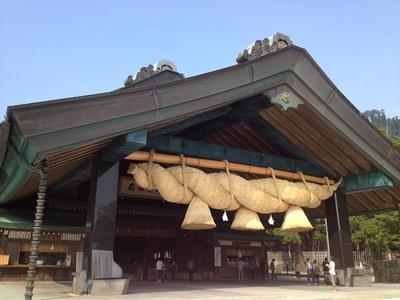 画像: 出雲大社 神楽殿(イメージ)