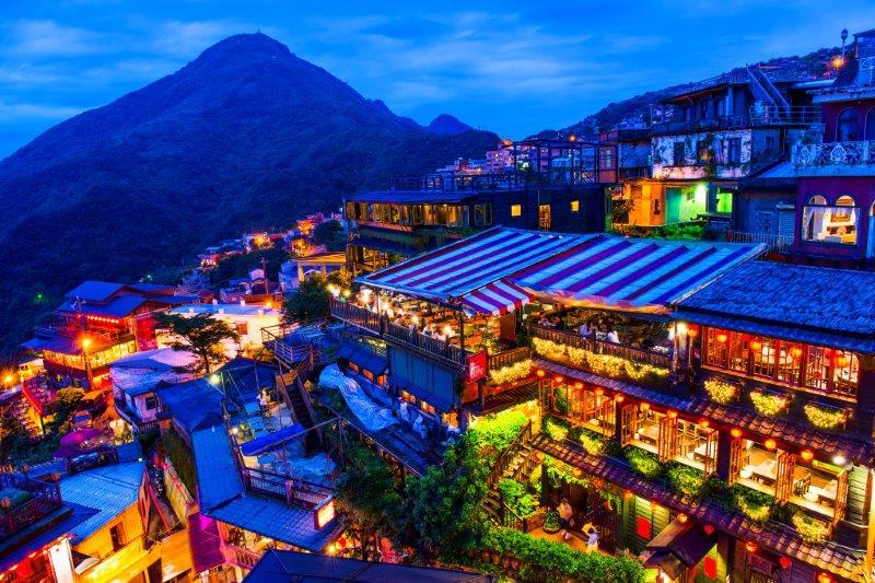 画像: 【10537】<おひとり参加限定の旅> 『1名1室3連泊 はじめての台湾ハイライト 4日間』 ☆20周年記念☆ 夕方から夜の九フン散策へご案内|クラブツーリズム