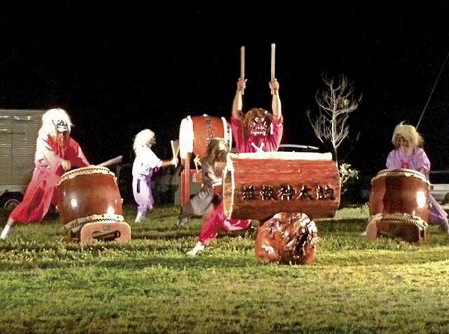 画像: イベントでは郷土芸能の益救神太鼓を特別披露