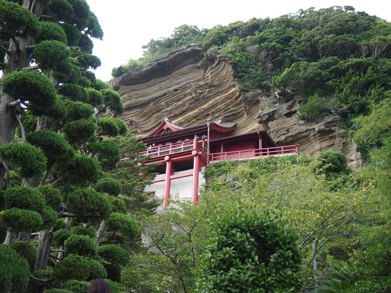 画像: 「崖の観音」大福寺