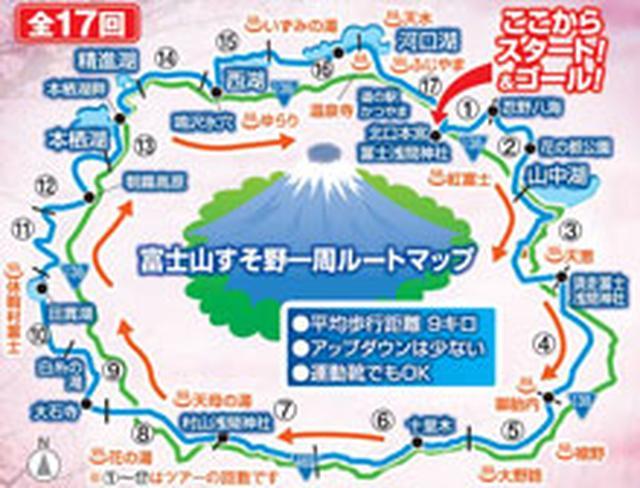 画像: 富士山すそ野ぐるり一周ウォーク・ツアー・旅行|あるく国内|クラブツーリズム