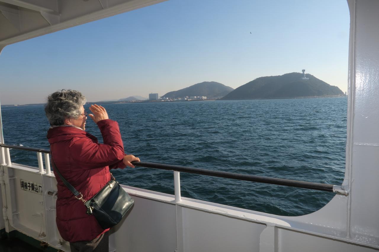 画像: 三河路と伊勢路を55分で結ぶ伊勢湾フェリーでちょっとした船旅も