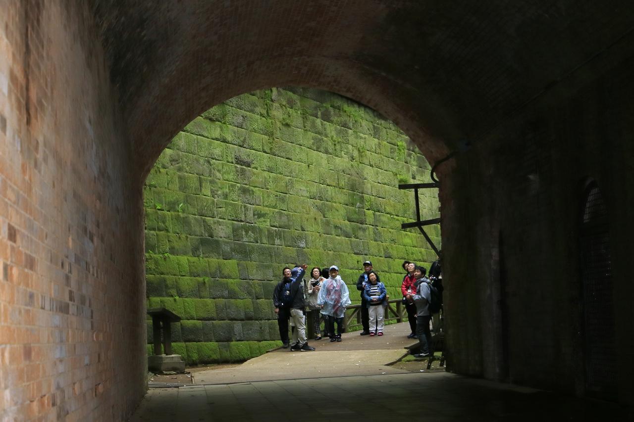 画像: こちらは「愛のトンネル」。カップルで歩くと自然と手をつなぐことから、そう呼ばれるのだそうです