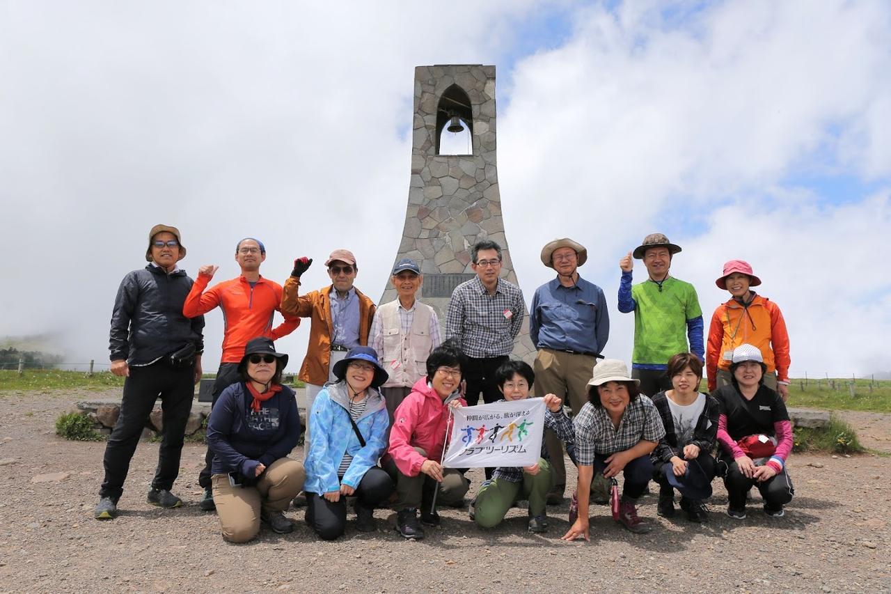 画像: 現在は観光名所の美しの塔ですが、元は遭難防止の警鐘兼避難場所として建てられたのだとか