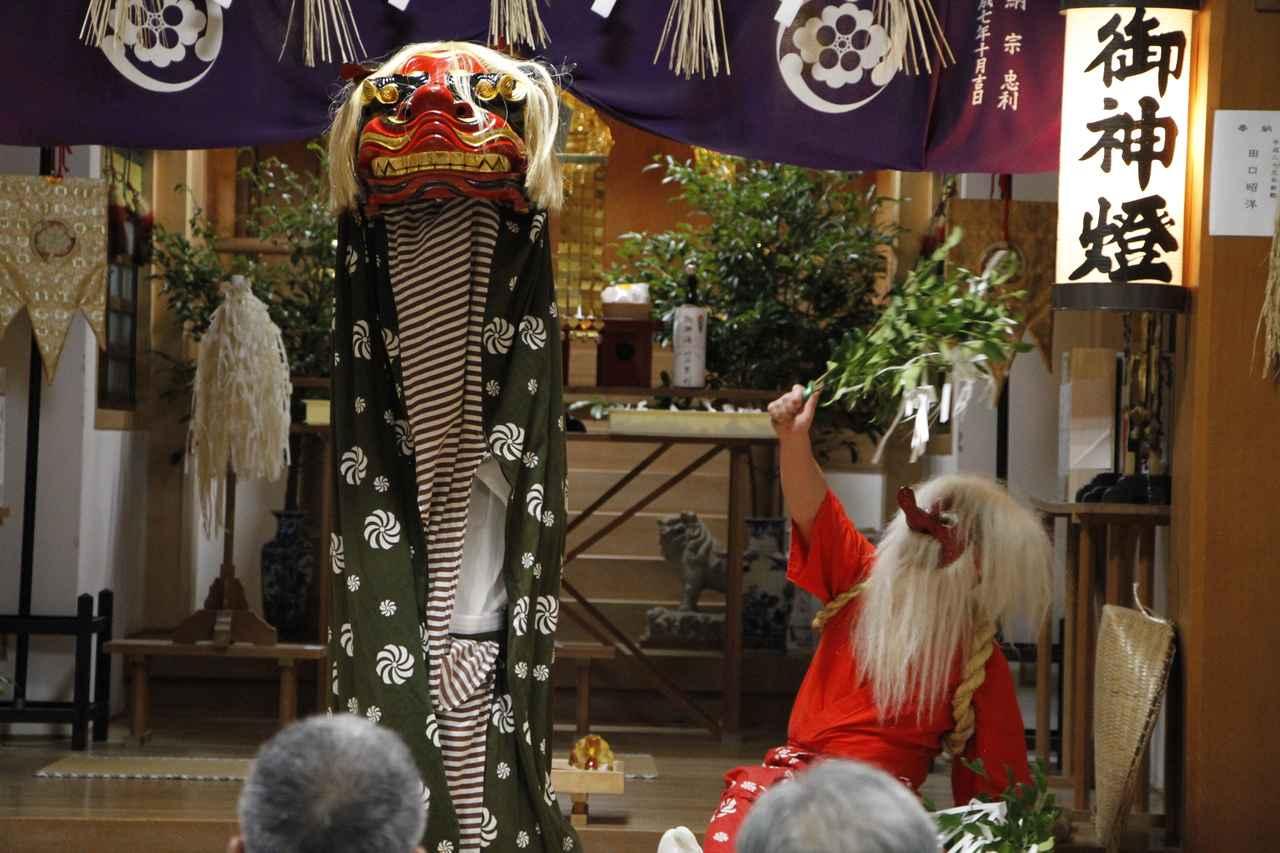 画像: 上五島夜神楽