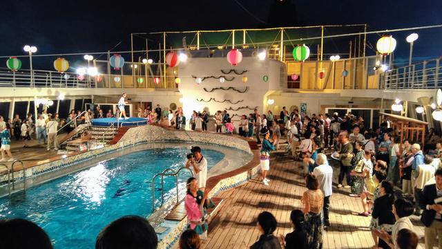 画像: クラブツーリズムオリジナルイベント「洋上の夏祭り」