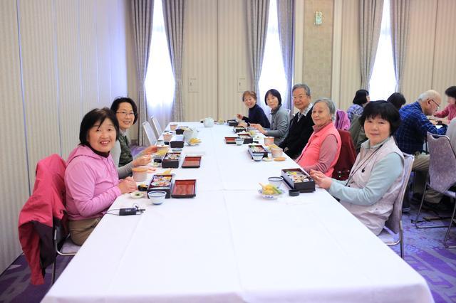 画像: 昼食はホテルリガーレ春日野で和食をいただきました