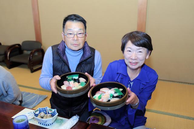 画像: 2日目昼食は「富山湾鮨」を楽しみました