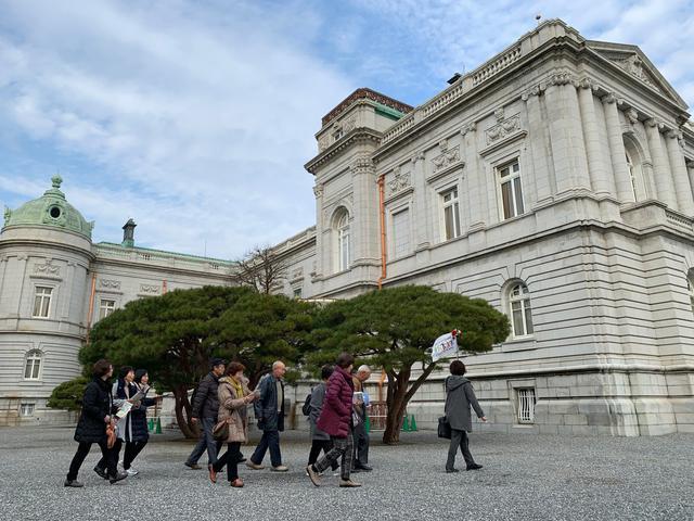 画像: 最初の目的地、迎賓館赤坂離宮を訪れました