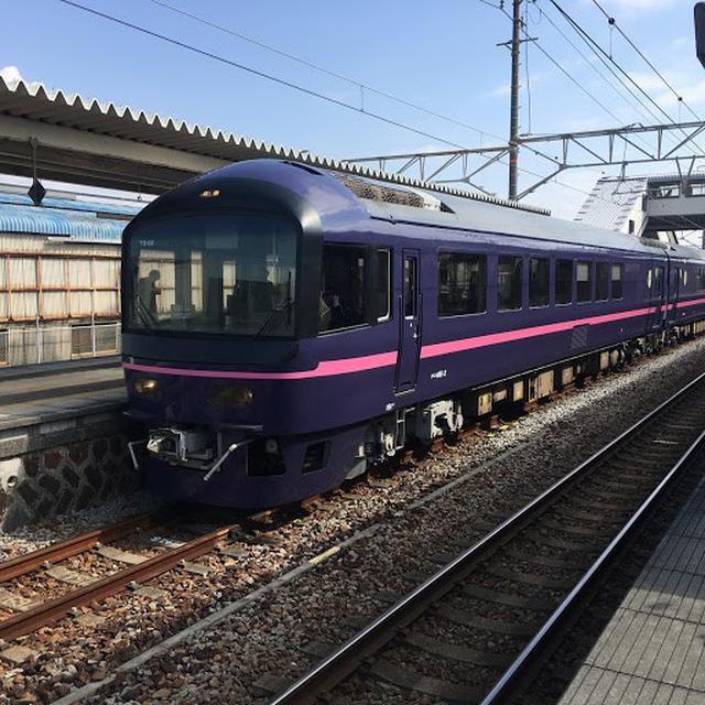 画像: JR東海管内東田子の浦に停車中の485系お座敷列車「華」/大塚雅士撮影