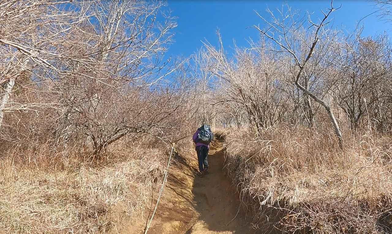 画像: 平尾山に向けて出発!