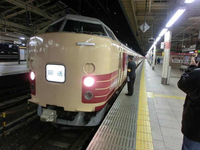 画像: 183系時代のムーンライトながら号。クリームに赤の国鉄色がよく似合う。/ 弊社スタッフ鈴木 悠斗撮影