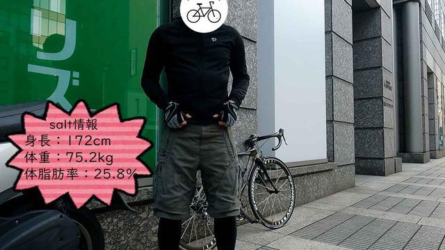 画像: パールイズミのサイクルウェアを着用したsalt@IGA撮影