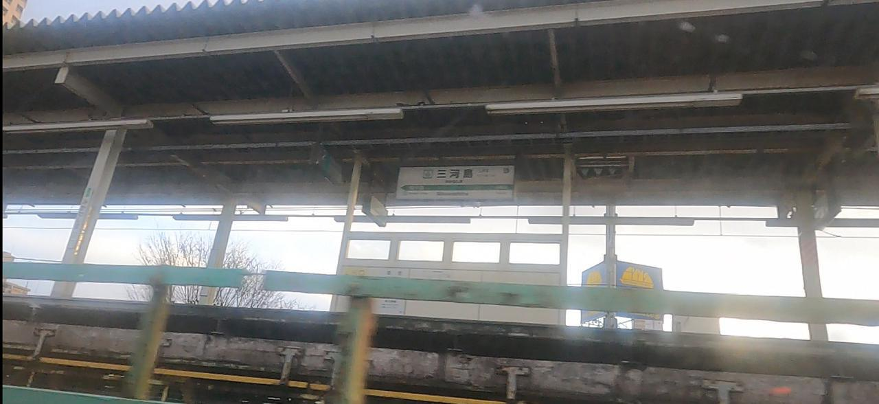 画像: 常磐貨物線走行時(弊社スタッフ撮影)