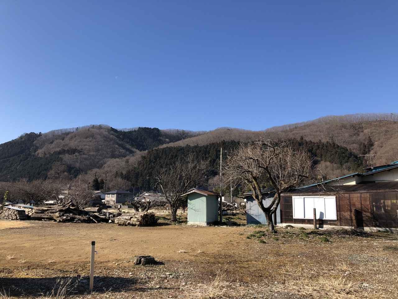 画像: 野上駅~万福寺までの道中