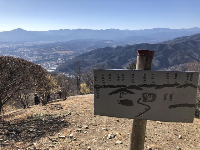 画像: 左の盛り上がっている山が武甲山です