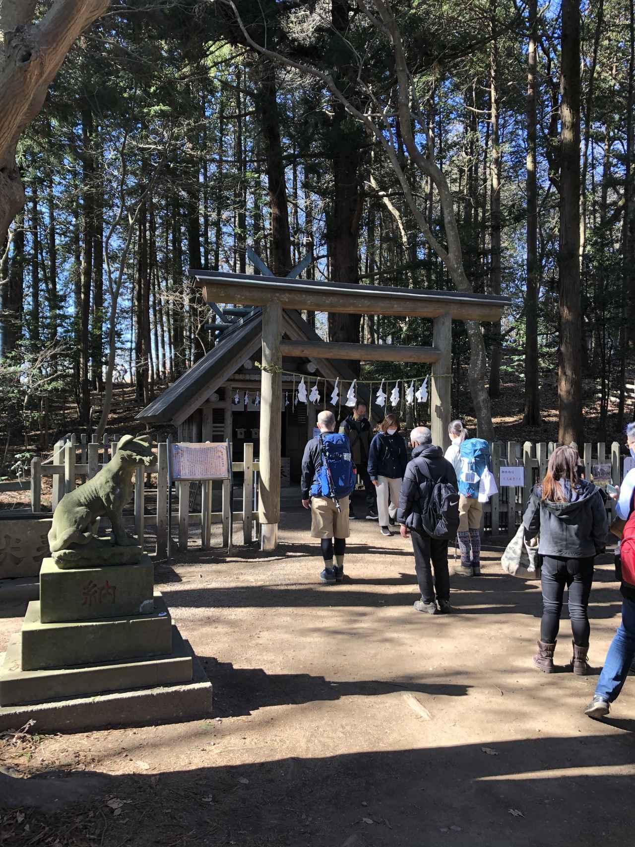画像: 宝登山神社奥宮
