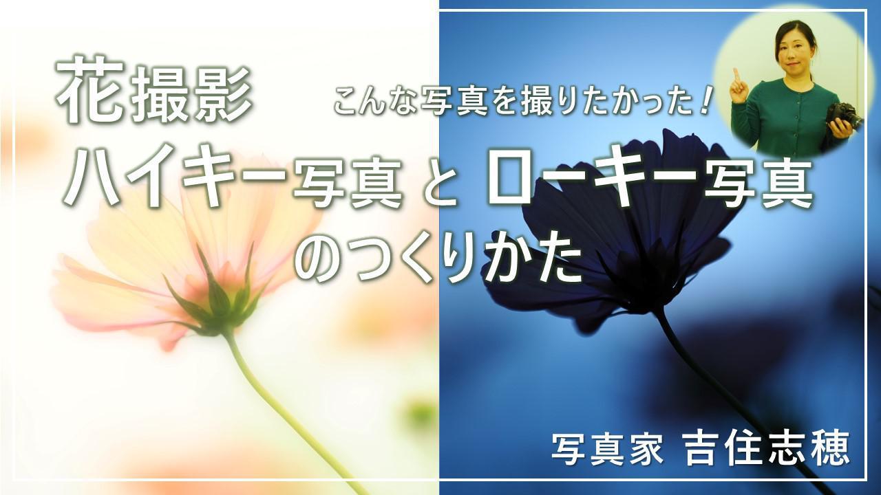 画像: ハイキー写真とローキー写真のつくりかた www.youtube.com