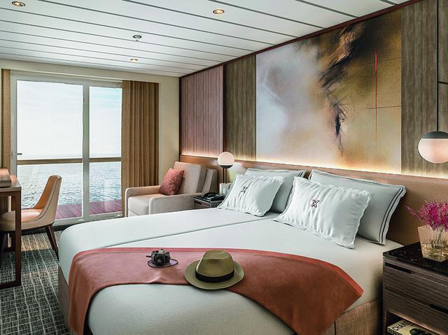 画像: バルコニー付き客室イメージ ⒸCelebrity cruises