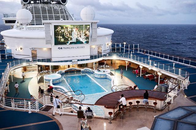 画像: デッキ ⒸPrincess Cruises