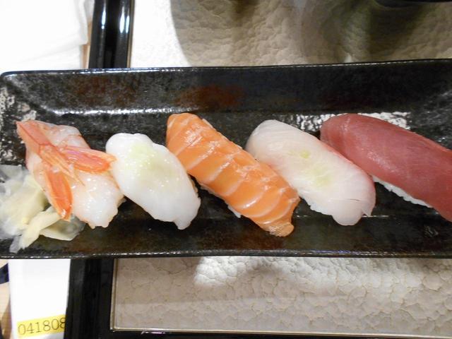 画像: お寿司の前に茶碗蒸しや天ぷらなどをいただきました!