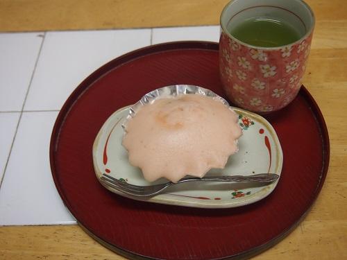 画像4: 桜蒸しパン クッキング