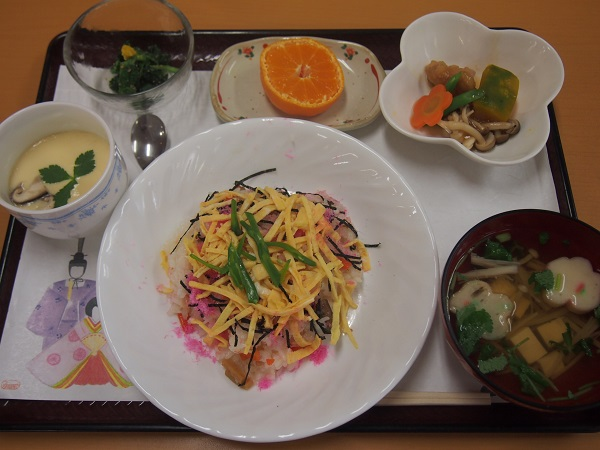 画像1: ひな祭りの特別膳