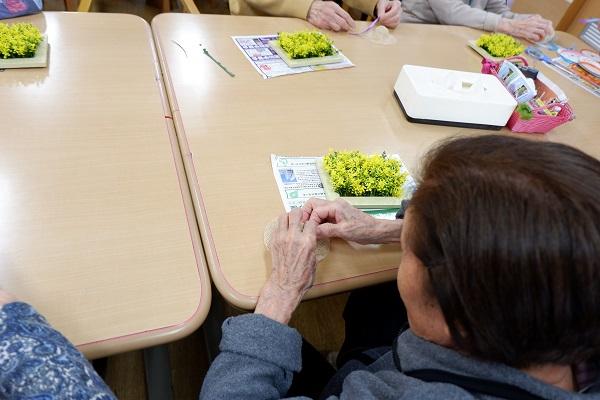 画像1: 手工芸 春の額かざり作り