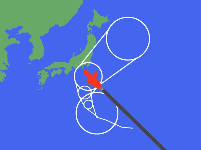 画像1: 台風19号 ハギビス