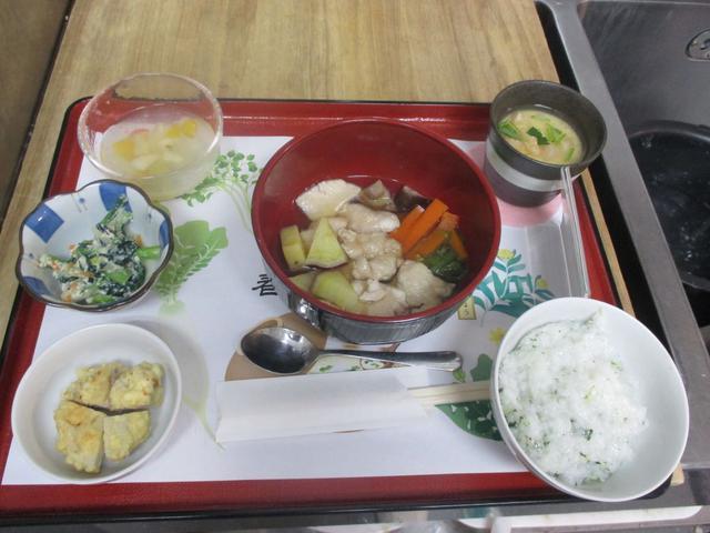 画像1: 今日は、お楽しみ膳の日!