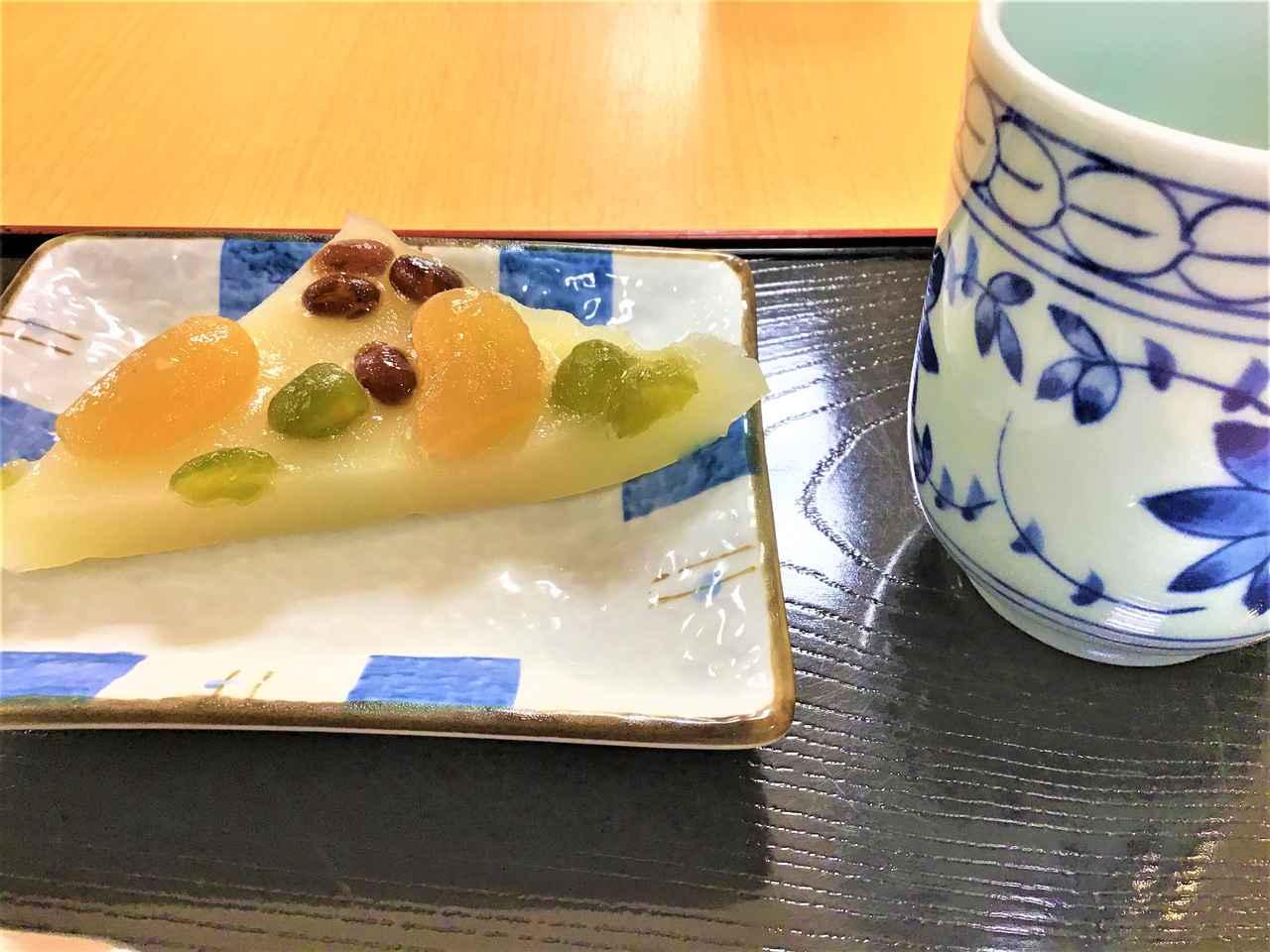 画像: 京都の和菓子『水無月』