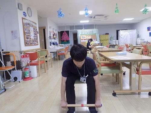 画像3: びよ~んと伸びて…棒体操第3弾!