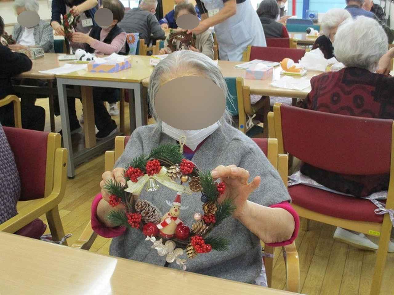 画像2: クリスマスリース作り