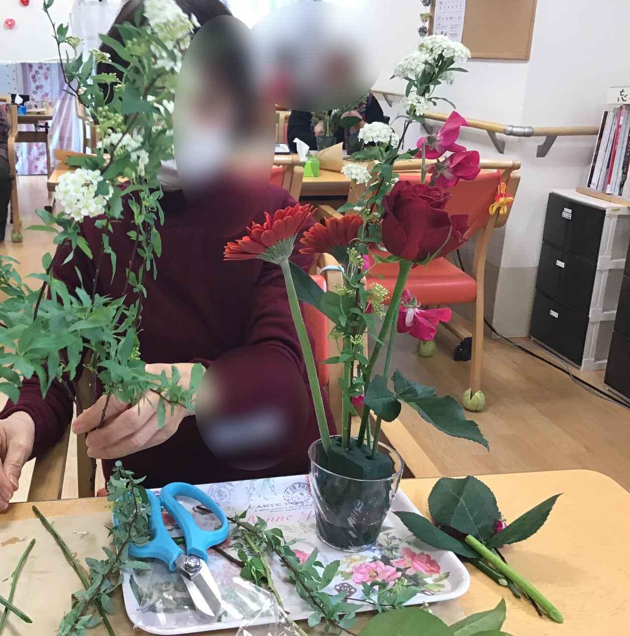 画像8: フラワーアレンジ教室(小平)はじまりました!