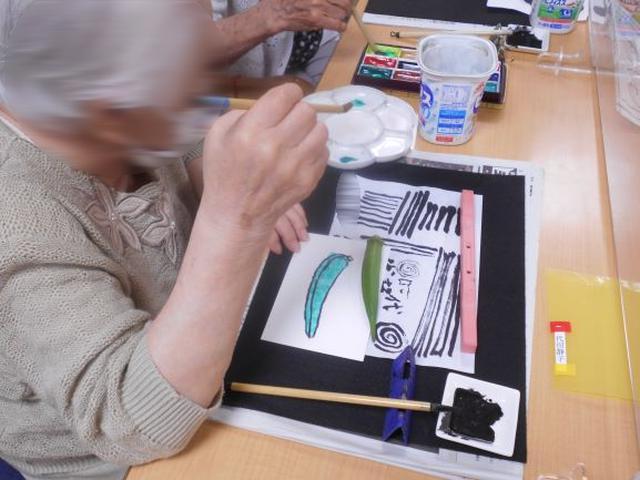 画像4: 「絵手紙教室」テーマ:暑中見舞い
