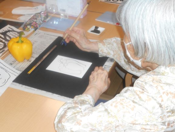 画像2: 「絵手紙教室」テーマ:暑中見舞い